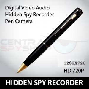 CSS HIGH QUALITY Spy Pen with: Voice Recorder (1280x720) Video Recorder and A Digital Camera
