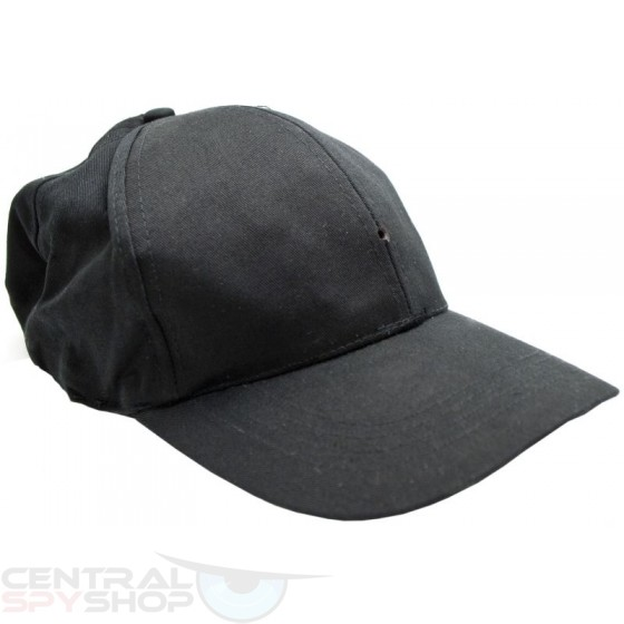 Cap / Hat -  SPY CAMERA  w/ MP3 Player - COVERT STYLE NO DESIGN