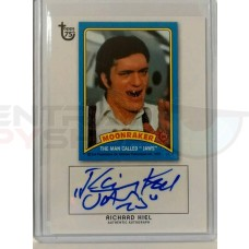 Richard Kiel - Rare hand signed Moonraker Card