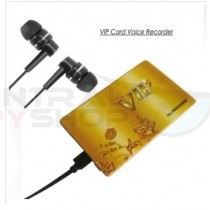 Credit Card - Voice Recorder w/ Long Life battery
