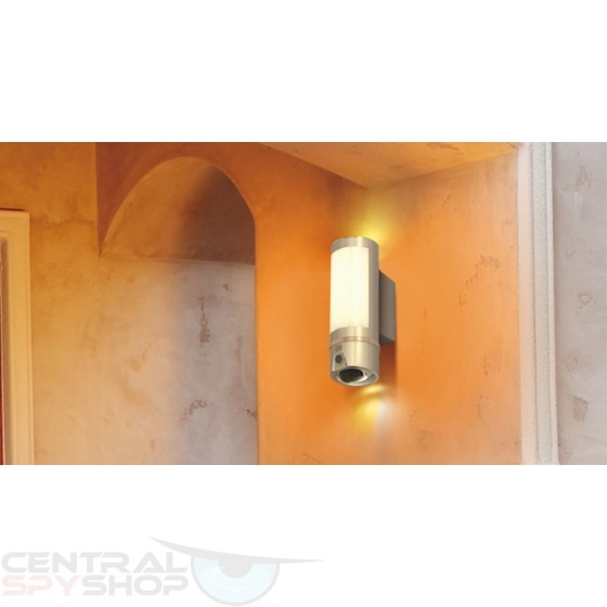 Central Spy Shop Houston Outdoor Wall Light Camera