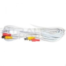 60 Foot All-in-One BNC Video and Power Cable with Connectors