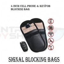 4 Inch - Cell phone & keyfob Blocker Bag