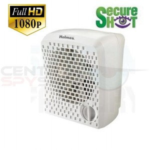 NEW! SecureShot Full High Definition 1080P Personal Air Purifier Camera/DVR with Night-vision