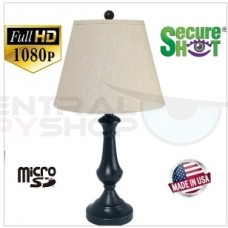 NEW! SecureShot Nightvision Standard Size Lamp 1080P