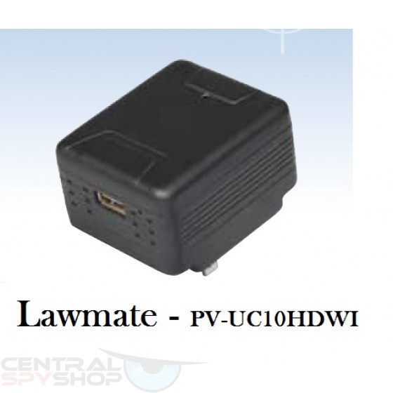 Lawmate - PV-UC10HDW - USB Charger Covert Camera 1080p DVR266WF with Wi-Fi