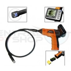 Pipe Snake Borescope Inspection Color Camera Monitor